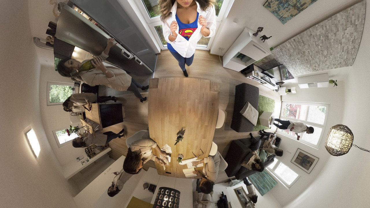 Episode 1 – Superwoman 360 grad Fotografie
