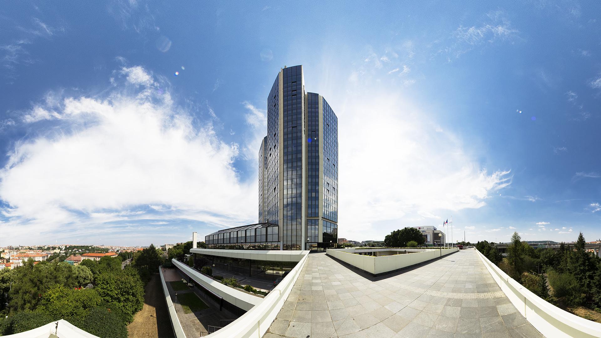 Architektur Mercator Panoramafoto