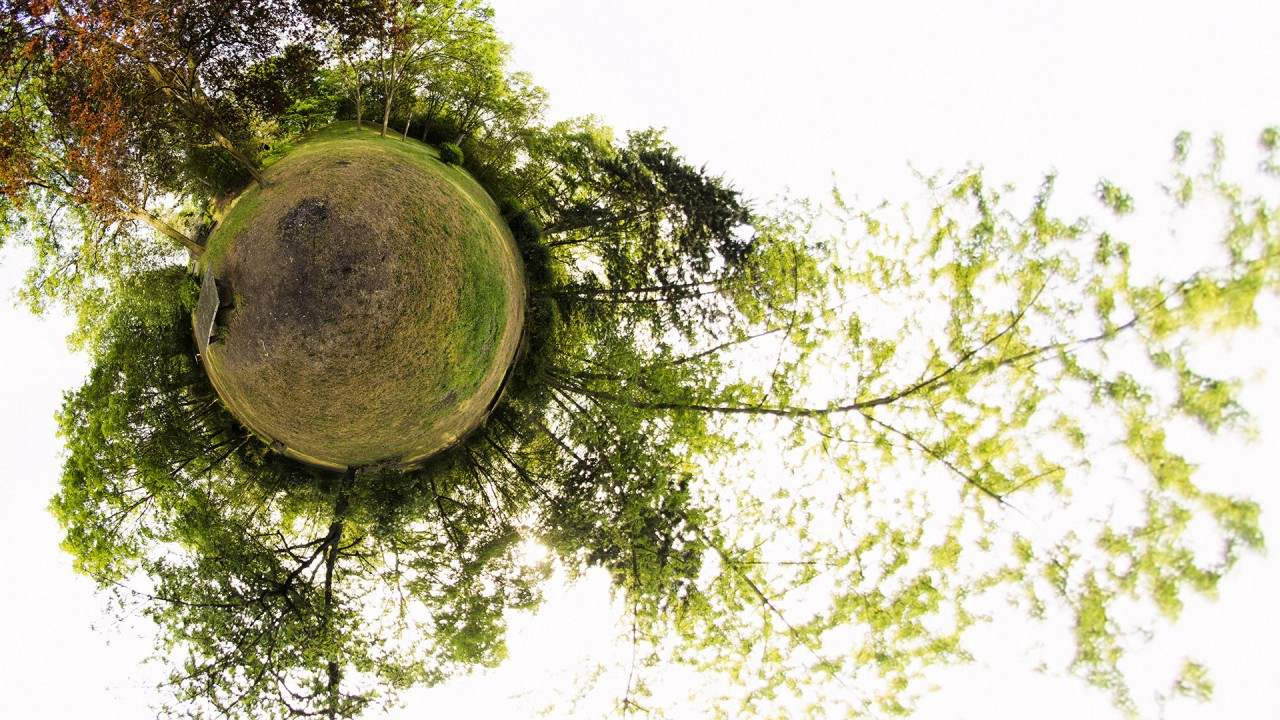 Hartenberg-Park Mainz Little Planet
