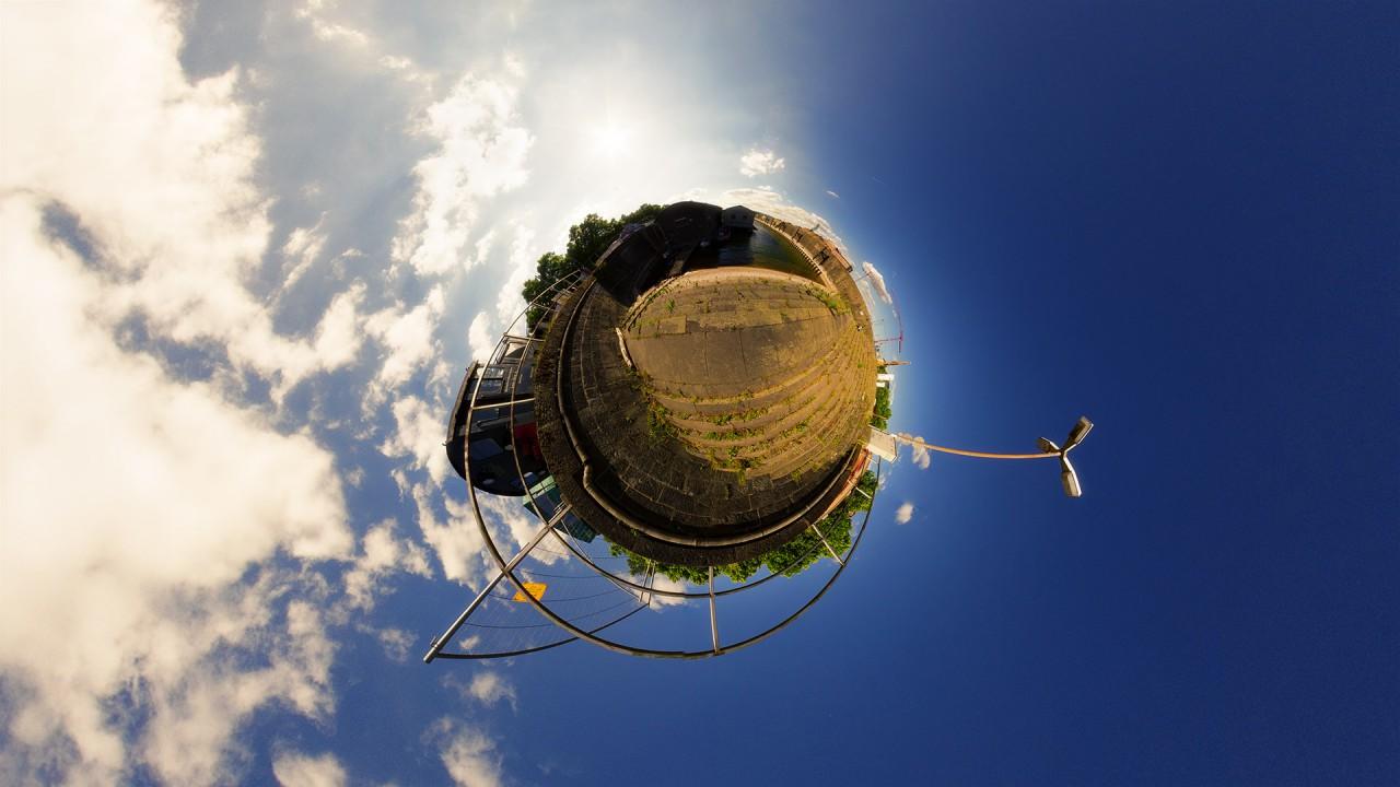 Mainz Zollhafen – 360 Grad Fotografie