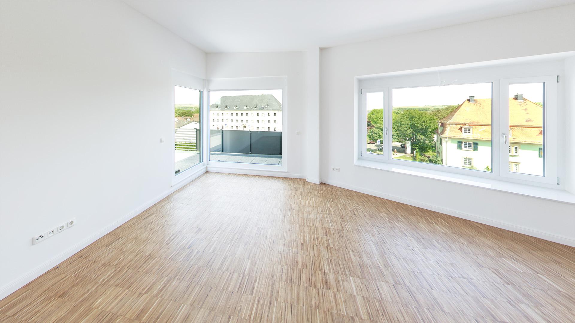 Wohnzimmer ohne Visualisierung