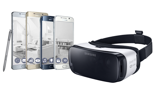 Samsung Gear VR - Virtual reality Brille