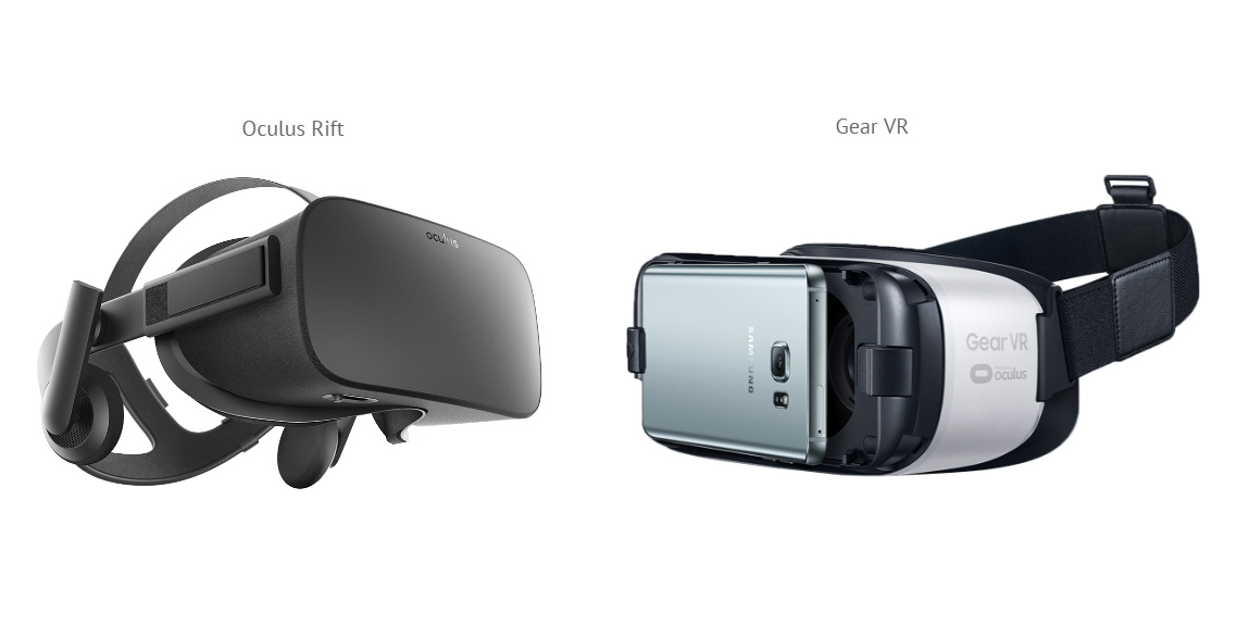 Gear VR vs Oculus Rift