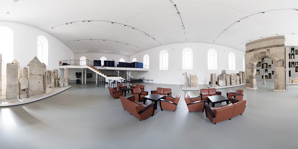 Virtuelle Tour durch den Landtag Rheinland-Pfalz in Mainz