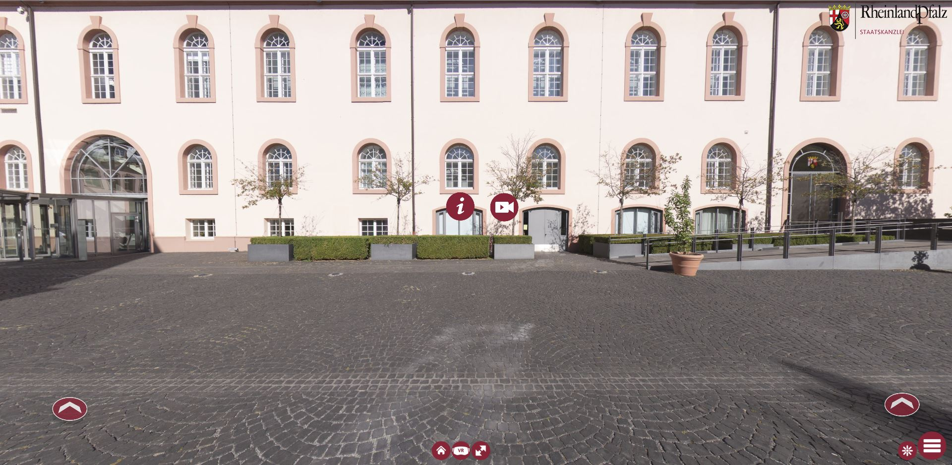 Virtueller Rundgang Staatskanzlei Mainz